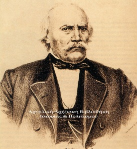 Ο Κωνσταντίνος Κανάρης σε προχωρημένη ηλικία.